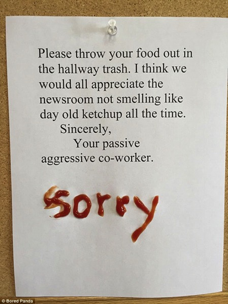 Ketchup apology