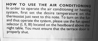The funny side of air conditioning in Spain