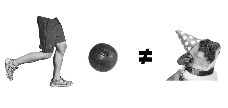 Lebende Systeme bitte nicht mit Ball-Flugkurven verwechseln