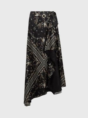 Rent All Saints Midi Skirt