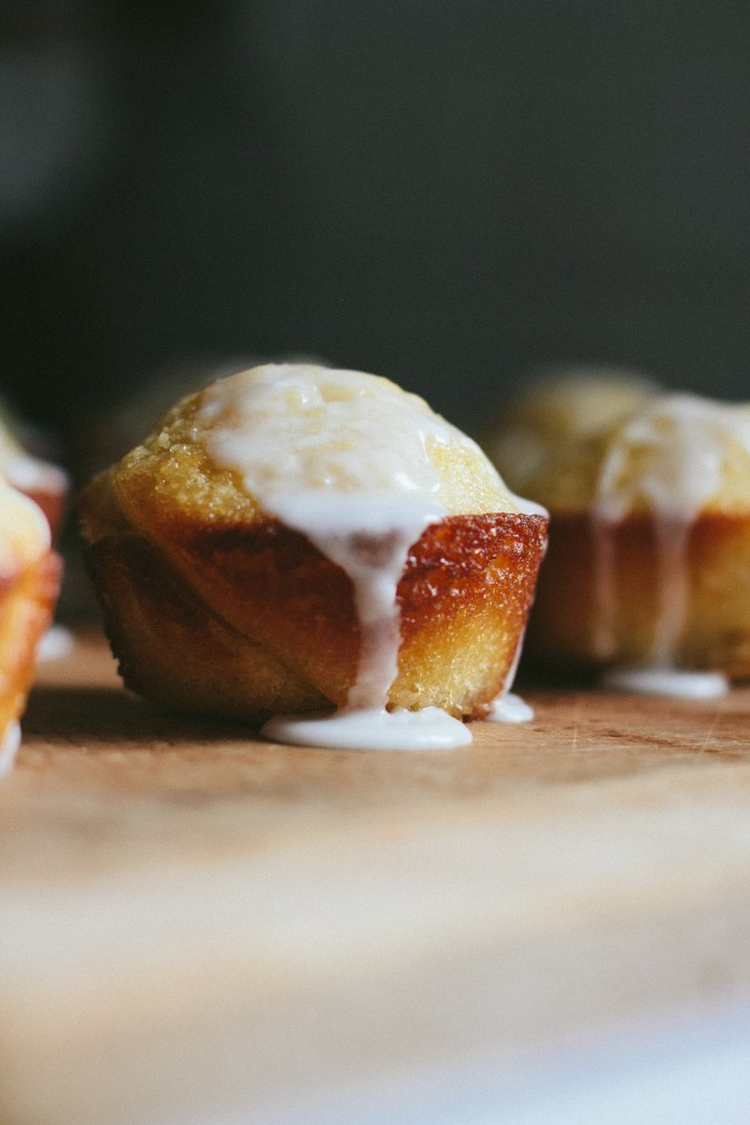 Mouthwatering Lemon Loaf Muffins | The Everyday Chef and Wife