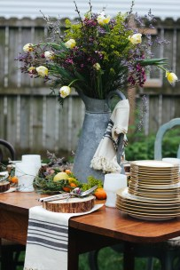 How to throw and outdoor dinner party
