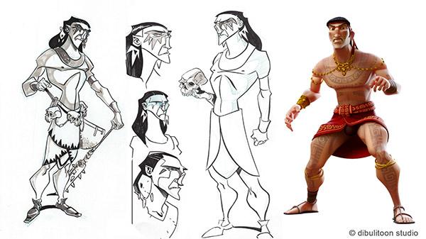Cilacilapu-3d character
