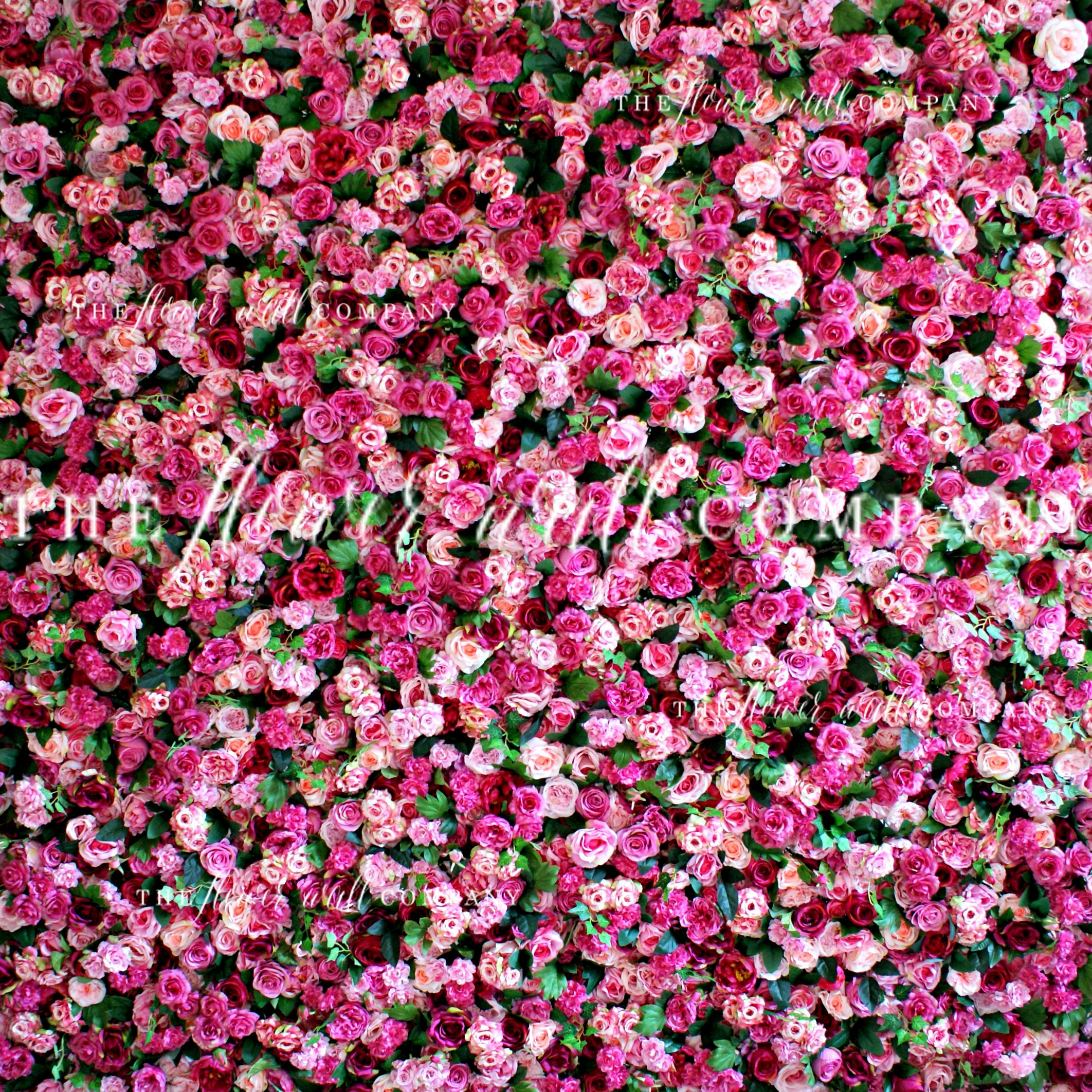 The Flower Wall pany Creating reusable easy to construct and store flow