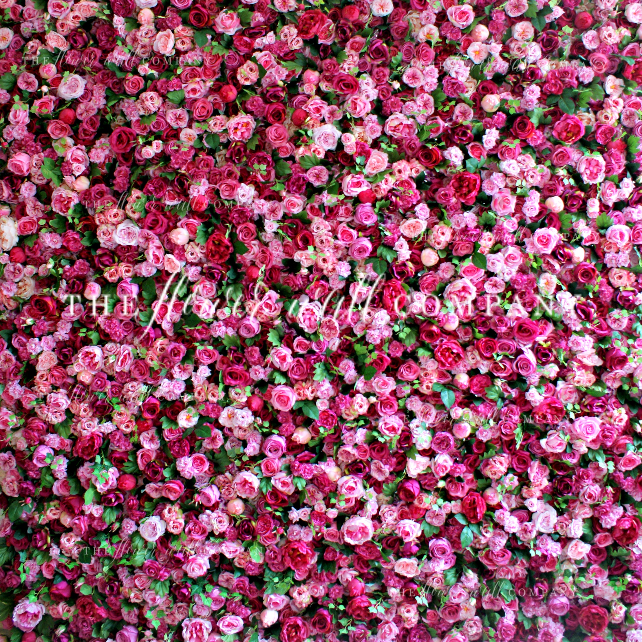 The Flower Wall Company Creating Reusable Easy To Construct And