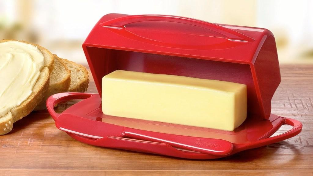 Butterie™ Flip-Top Butter Dish