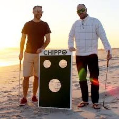 Chippo golf is great on the beach