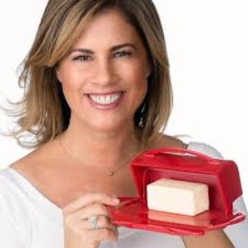 Joelle Mertzel found and owner of Butterie™ Flip-Top Butter Dish