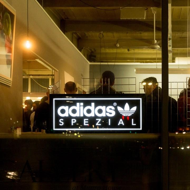 adidas x Spezial launch event