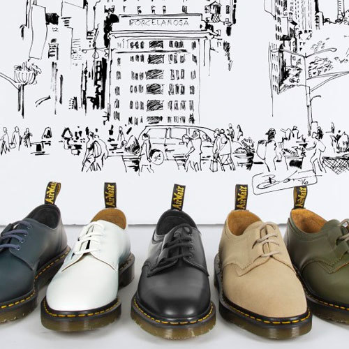 Dr. Martens x Engineered Garments Launch Limited Collection