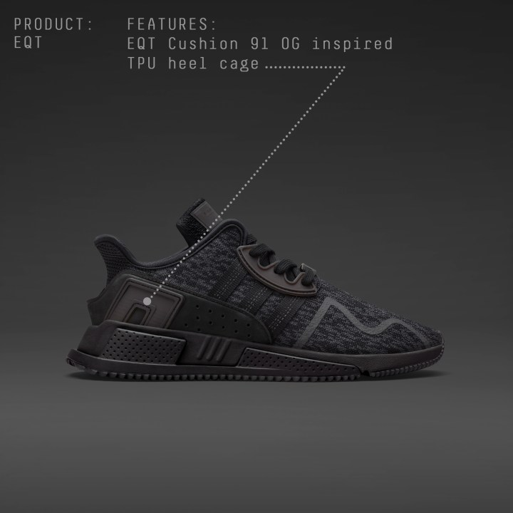 free shipping 1fd5a 8ea92 BY9512-Post3-Row1-IG. The adidas Originals EQT Cushion ADV Black Friday  ...