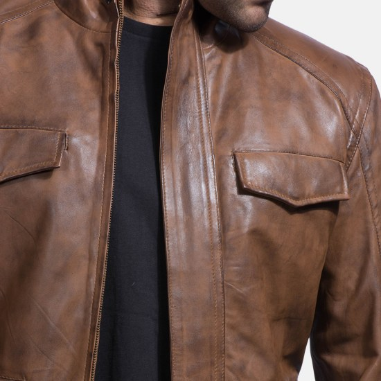 Real leather in its purest form shows grain, scratches or any imperfections found in any real skin or hide.