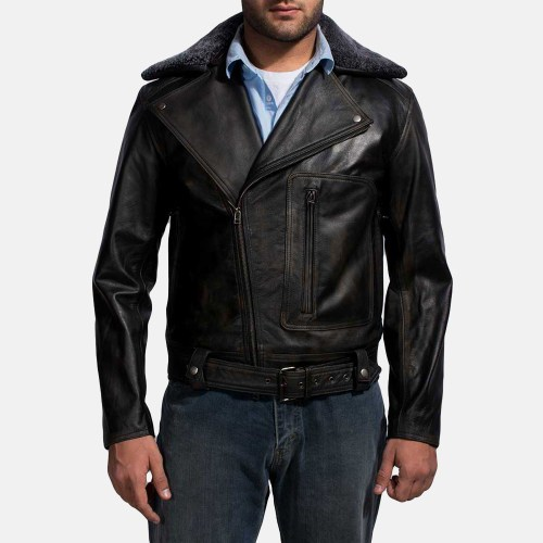 This Furton Black Fur Biker Jacket is a great option for the fashion enthusiasts, though it may sometimes be a tad bit loud in certain situations.