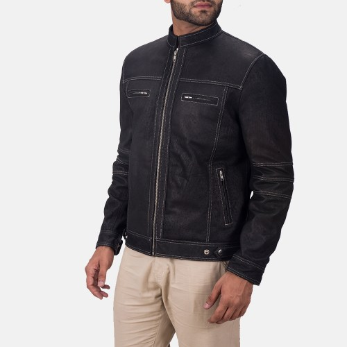 This style as with a bomber jacket, has a slim bodied structure and is exactly right for those looking for something snug.