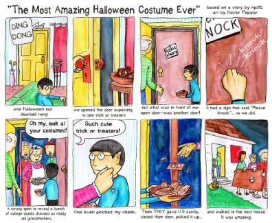 Role Reversal Halloween Costume