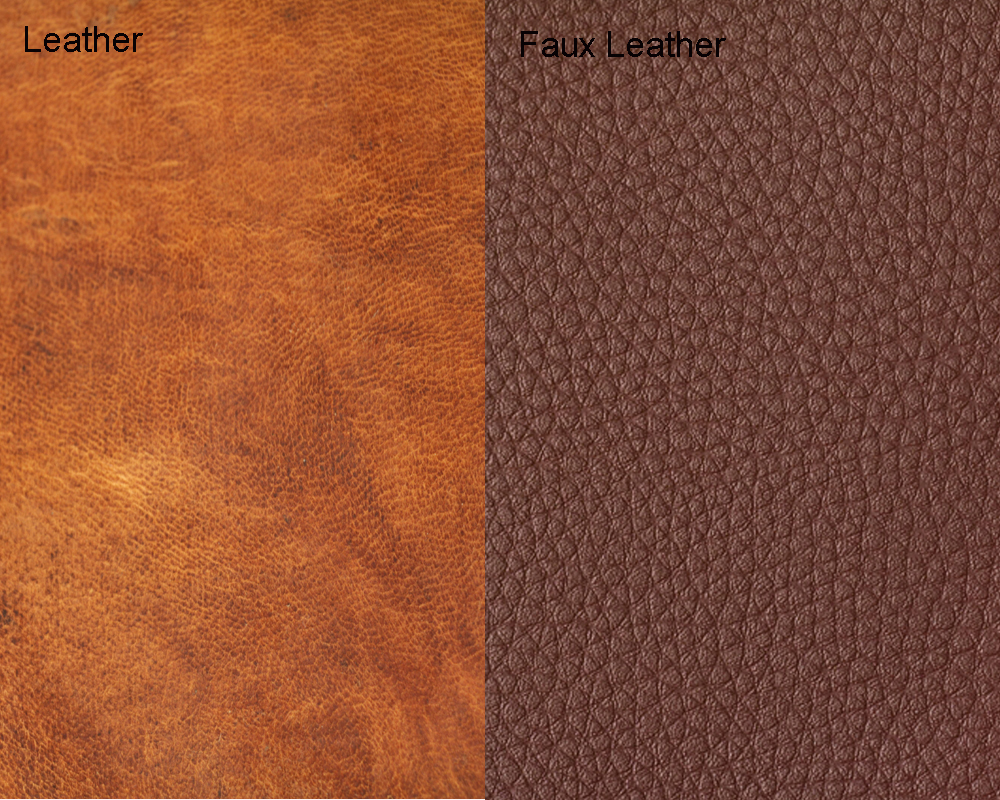 Faux Leather vs Real Leather