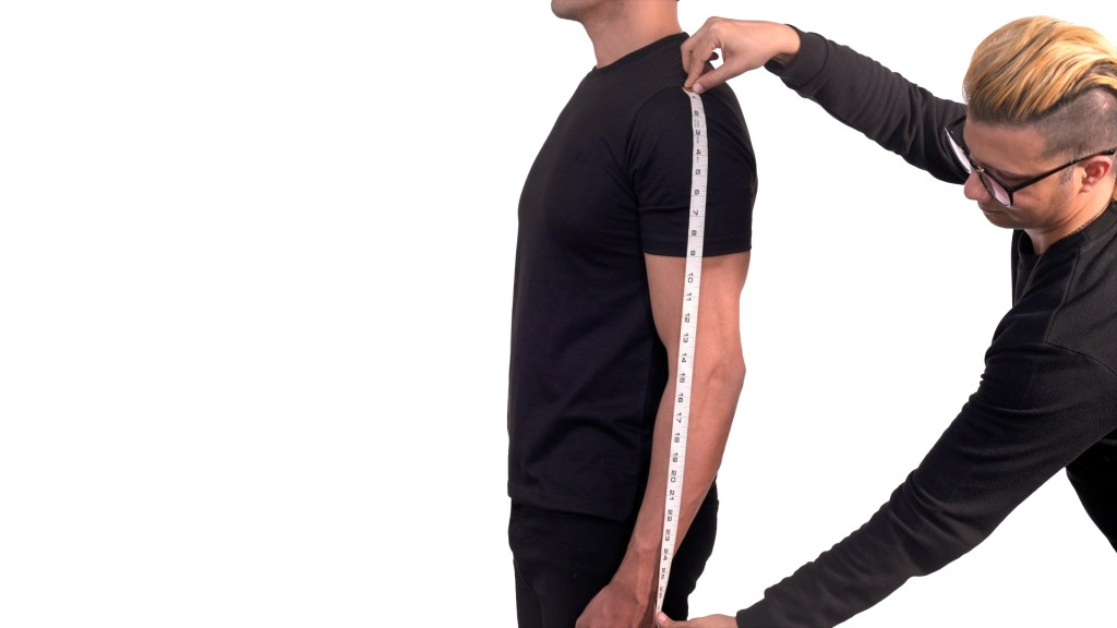 How To Measure Sleeves Length