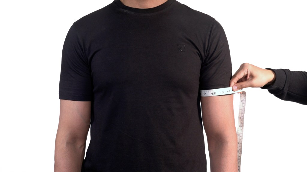 How to Measure your Upper arm