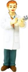 Doctor representing symptoms