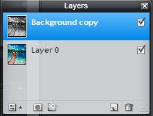 photo editing duplicate layer
