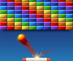 maths in games screenshot of breakout game