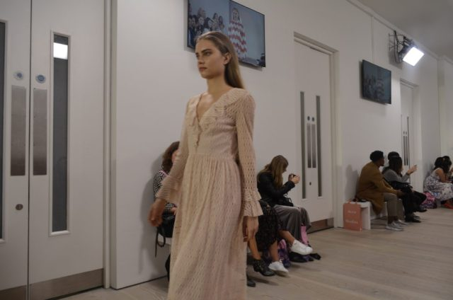 TJC in the FROW at London Fashion Weekend! - Look Ravishing in Lace.