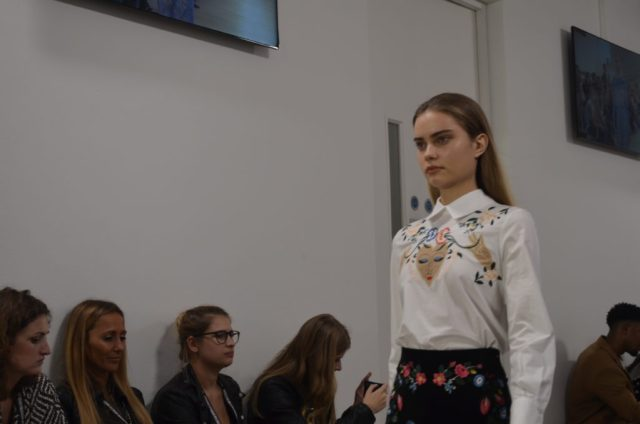 TJC in the FROW at London Fashion Weekend! -Winter Florals