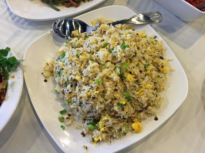 Chengdu Style Fried Rice: Features a Sichuan-only ingredient. The new standard in our house!
