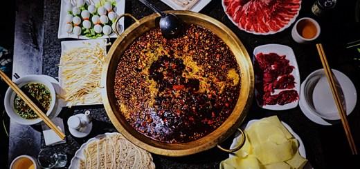 Chengdu mala hot pot (mala huo guo)