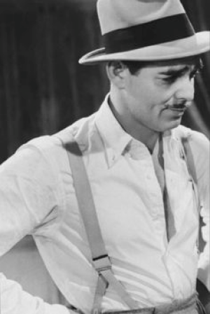 'King of Hollywood', Clark Gable in 'Comrade X', 1940. - Source: pinterest.com