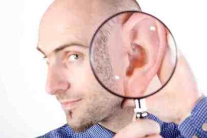 ear hygiene is a big fundamental for a well-groomed gentleman