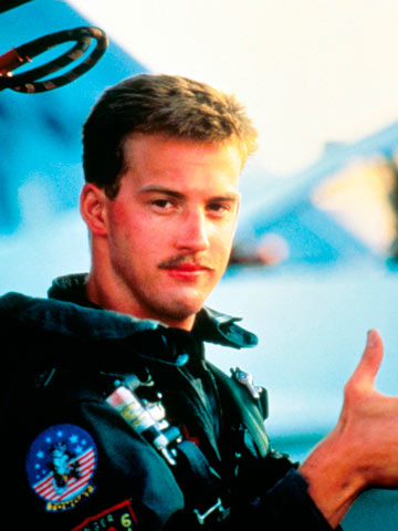 Image result for anthony edwards top gun