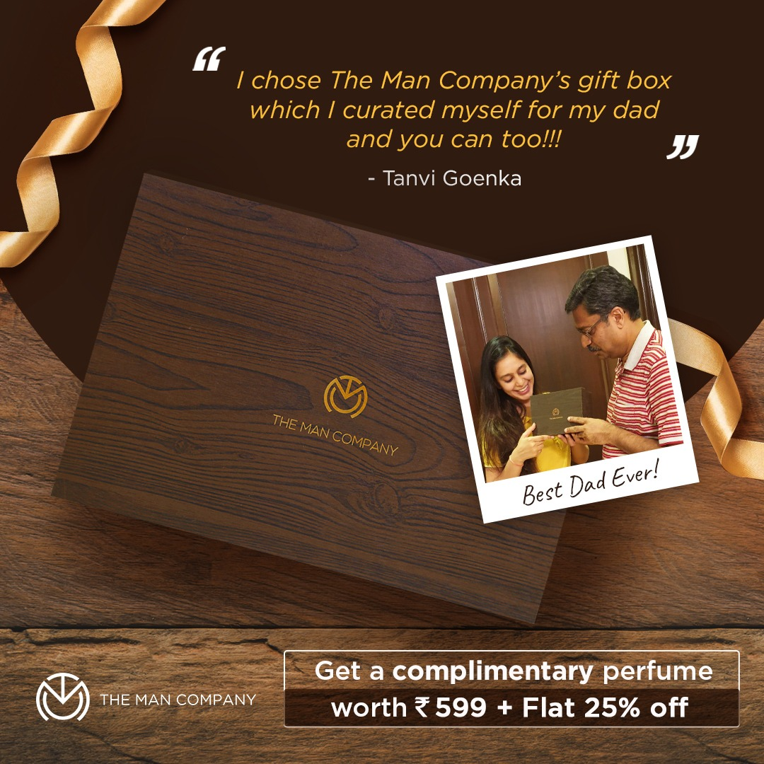 the man company fathers day gift