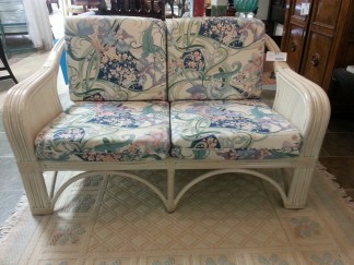 Rattan Love Seat NOW $185.00
