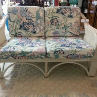 Rattan Love Seat NOW $185.00