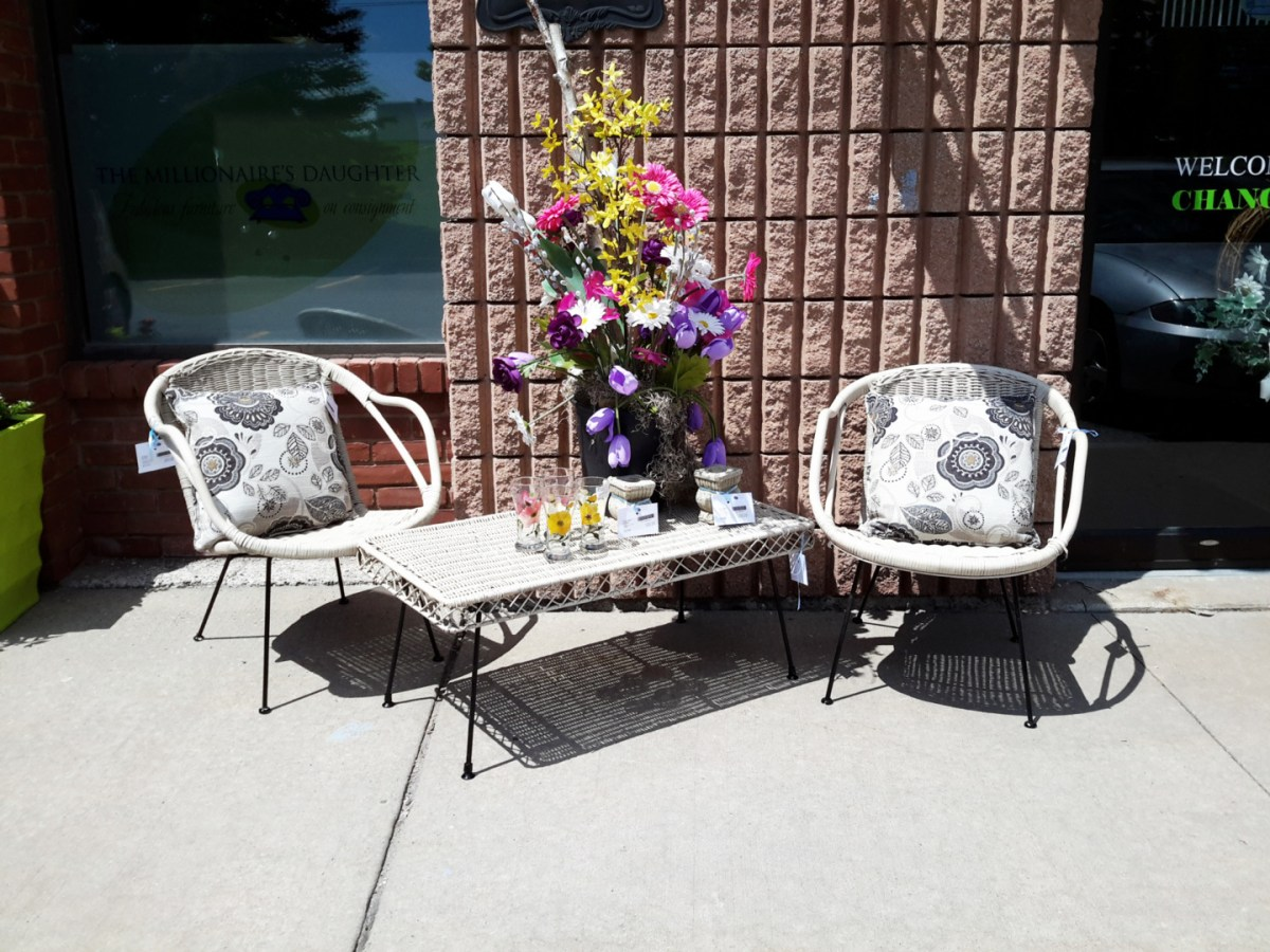 PATIO FURNITURE ON CONSIGNMENT