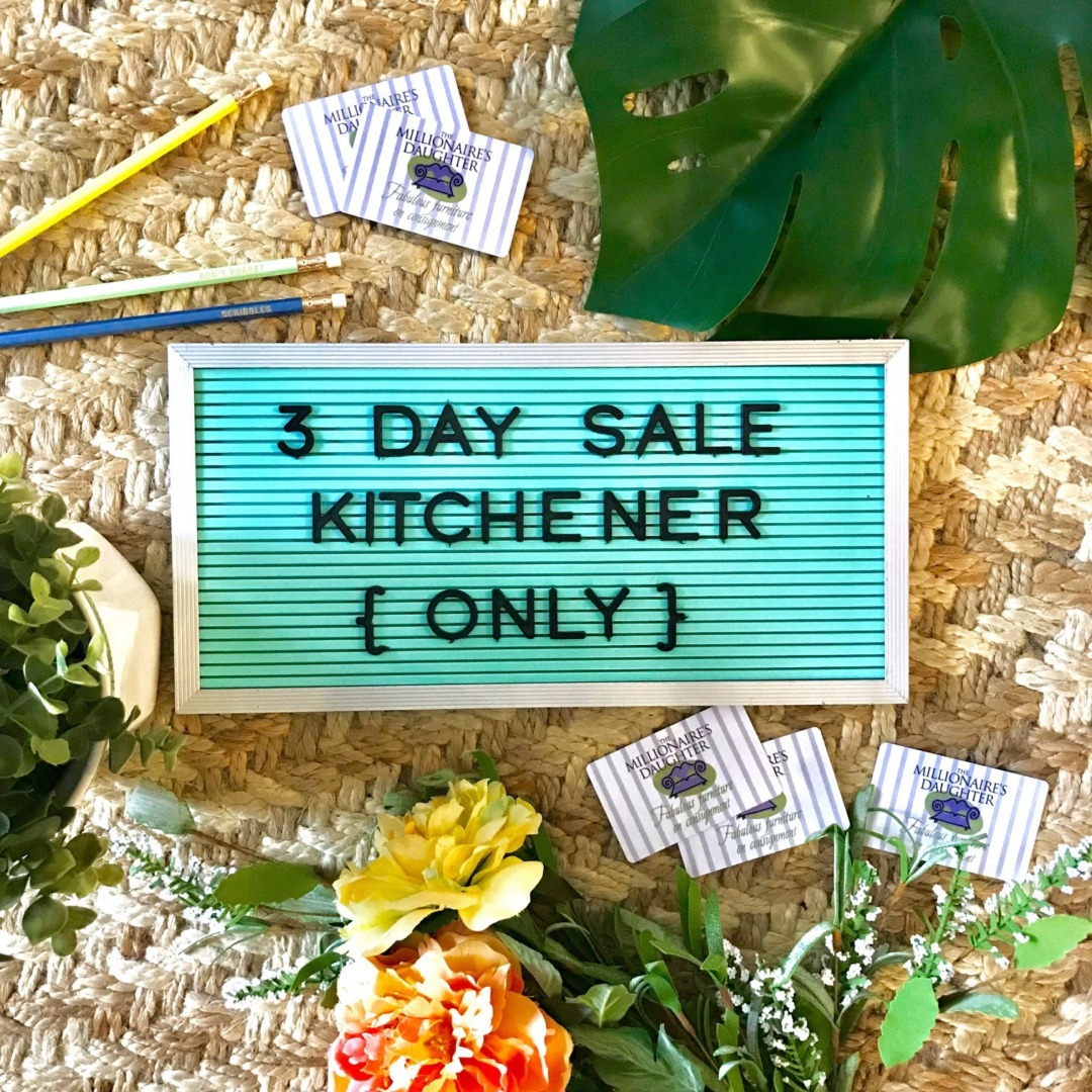 3-DAY-SALE KITCHENER ONLY