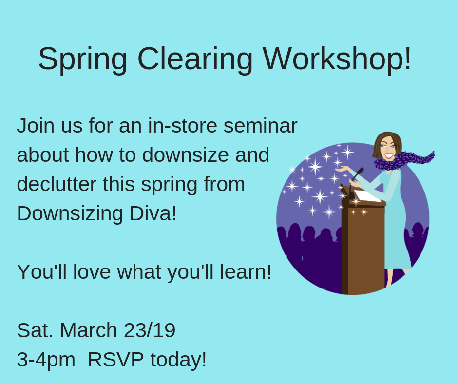 Don't Just Spring Clean...Spring Clear TWO DATES!!!!