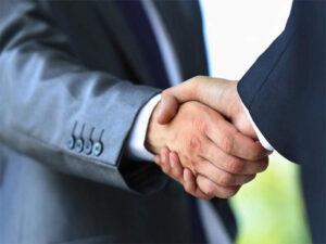 Shaking Hands Partnership