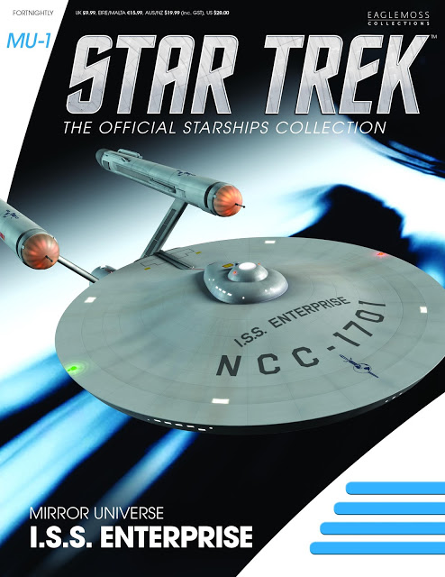 Eaglemoss Star Trek The Official Starships Collection mirror universe ISS Enterprise cover