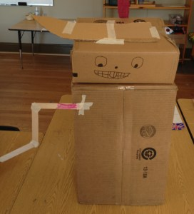 "Elementary kids ""invented"" these robots after a lesson on Leonardo Da Vinci"