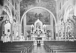St. Stan's Byzantine interior, early 20th century