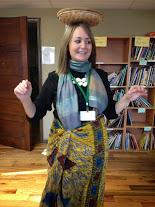 Ms. DuPrau looks like a native!