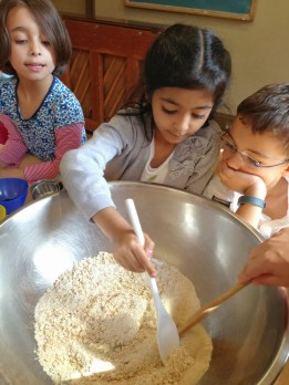 Diversity is a paramount value at TNCS. Kids learn the importance of culture by cooking traditional food, learning native customs, and doing special art projects particular to a given country.