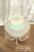 Best-First-Birthday-Cake-Smash-Photographer-Los-Angeles-SusieCakes-Teal-White-SIlver