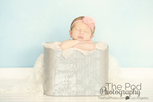 modern-newborn-photography-silver-basket