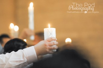 Candle-Lighting-Ceremony-Baptism-Event-Photography-Cathedral-Of-Our-Lady-Los-Angeles