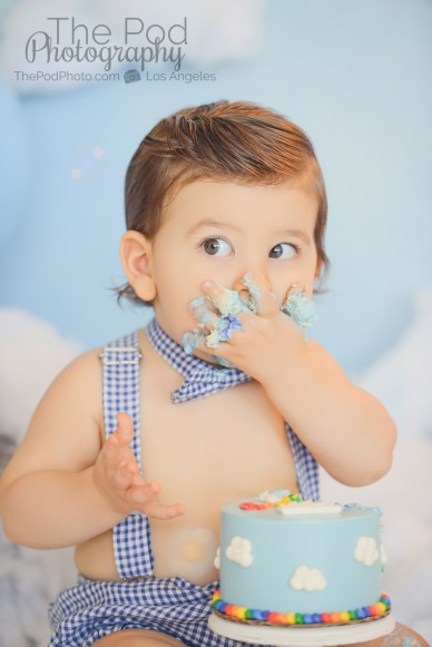 One-Year-Old-Eating-Cake