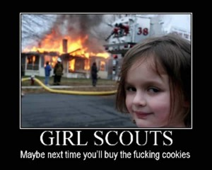 Image result for attack girlscout