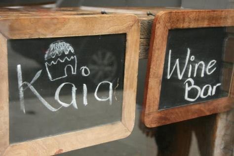 Photo credit - Kaia Wine Bar